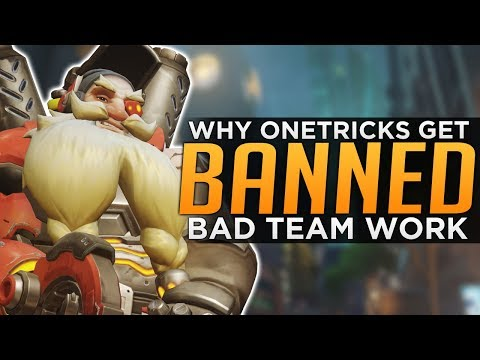 Overwatch: Why One-Tricks Get BANNED! - Report System EXPLAINED thumbnail