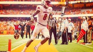 Lamar Jackson  quotThe Manquot  Louisville Heisman Highlights