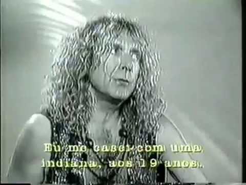 Robert Plant - Inteview with Bruna Lombardi - Gente de Expressão -1994