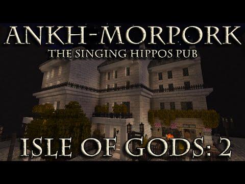 Ankh-Morpork in Minecraft: Isle of Gods 2 - The Singing Hippos Public House