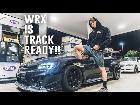 WRX FULL TRACK DAY PREP!