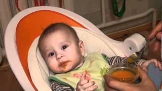 19.12.2010 Первый прикорм: Денис и тыква