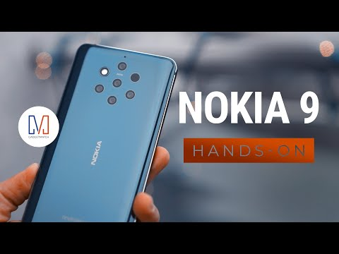 Nokia 9 PureView Hands-On