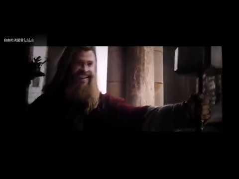 【恶搞】雷神三中怪不得雷神的锤子慢了一会,原来被一个肥仔拿走了