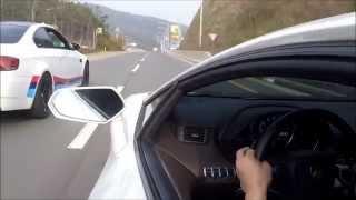 람보르기니 아벤타도르 + BMW M3 드라이브 영상