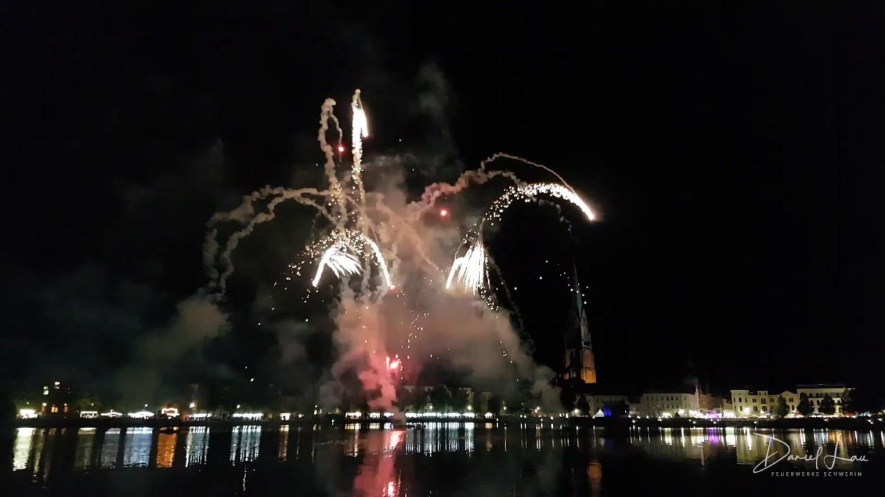 Altstadtfest Schwerin Feuerwerk