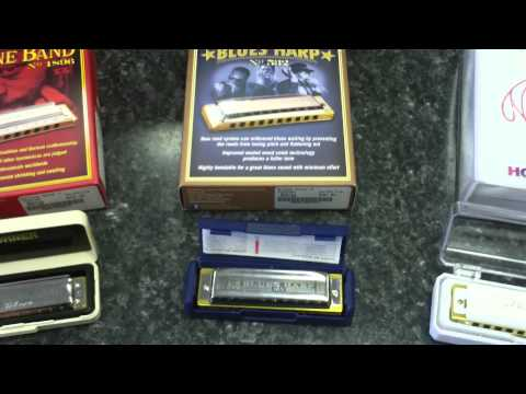 Hohner Harmonicas! - What's the difference?