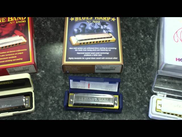 Hohner Harmonicas! - Whats the difference?