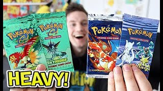 THE RAREST BOOSTERS I'VE EVER OPENED!!!! (Skyridge & Legendary Collection)