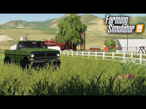 FS19- WELCOME TO JONES DAIRY FARM! MAP TOUR IN THE F-250 HIGHBOY thumbnail