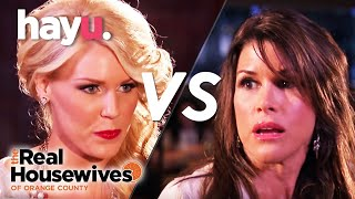 Gretchen vs Lynne Handbag Fight! | The Real Housewives of Orange County | Season 6