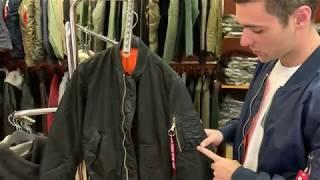 куртка бомбер Alpha Indusries MA-1 Slim fit / обзор - Видео от Alpha Industries