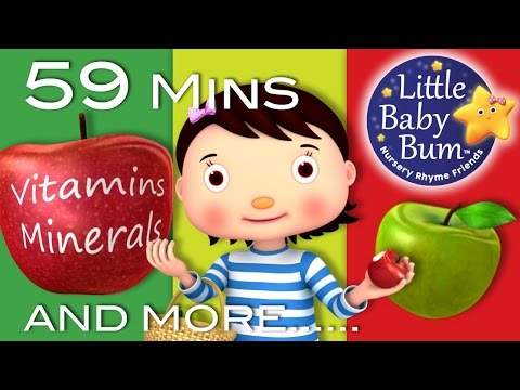 Apple Song | Plus Lots More Nursery Rhymes | 59 Minutes Compilation from LittleBabyBum!
