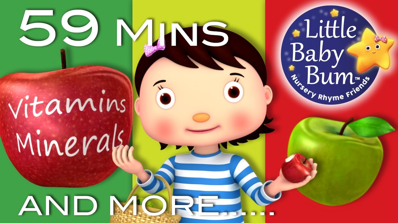 Little Baby Bum Apple Song Nursery Rhymes For Babies