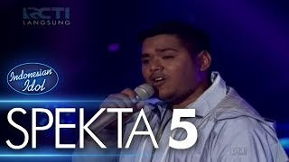 ABDUL - WILD THOUGHTS (DJ Khaled ft Rihanna, Bryson T) - Spekta Show Top 10 - Indonesian Idol 2018