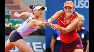 Angelique Kerber vs Hsieh Su-Wei ► Round of 16 Highlights, 22/01/2018