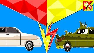Good and bad Limousine Car story for kids   Street Vehicles Cartoon Videos for Children l EP 06