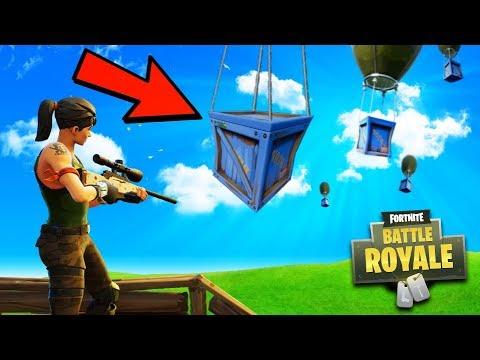 Fortnite Top Player - Crate Hunting Challenge - Fortnite Rank 1 Goal! (Fortnite Battle Royale)