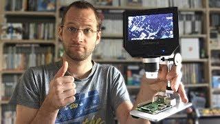 Microscope numerique x600 Mustool G600 : le test !