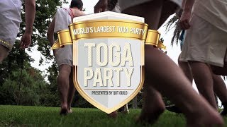 The Official World's Largest Toga Party 2014