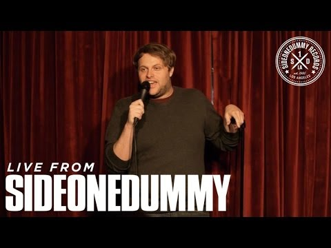 Sean O'Connor at the SideOneDummy Storytellers