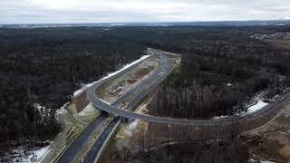 Стройка развязки Лыткарино-Новорязанское шоссе  17 12 2017
