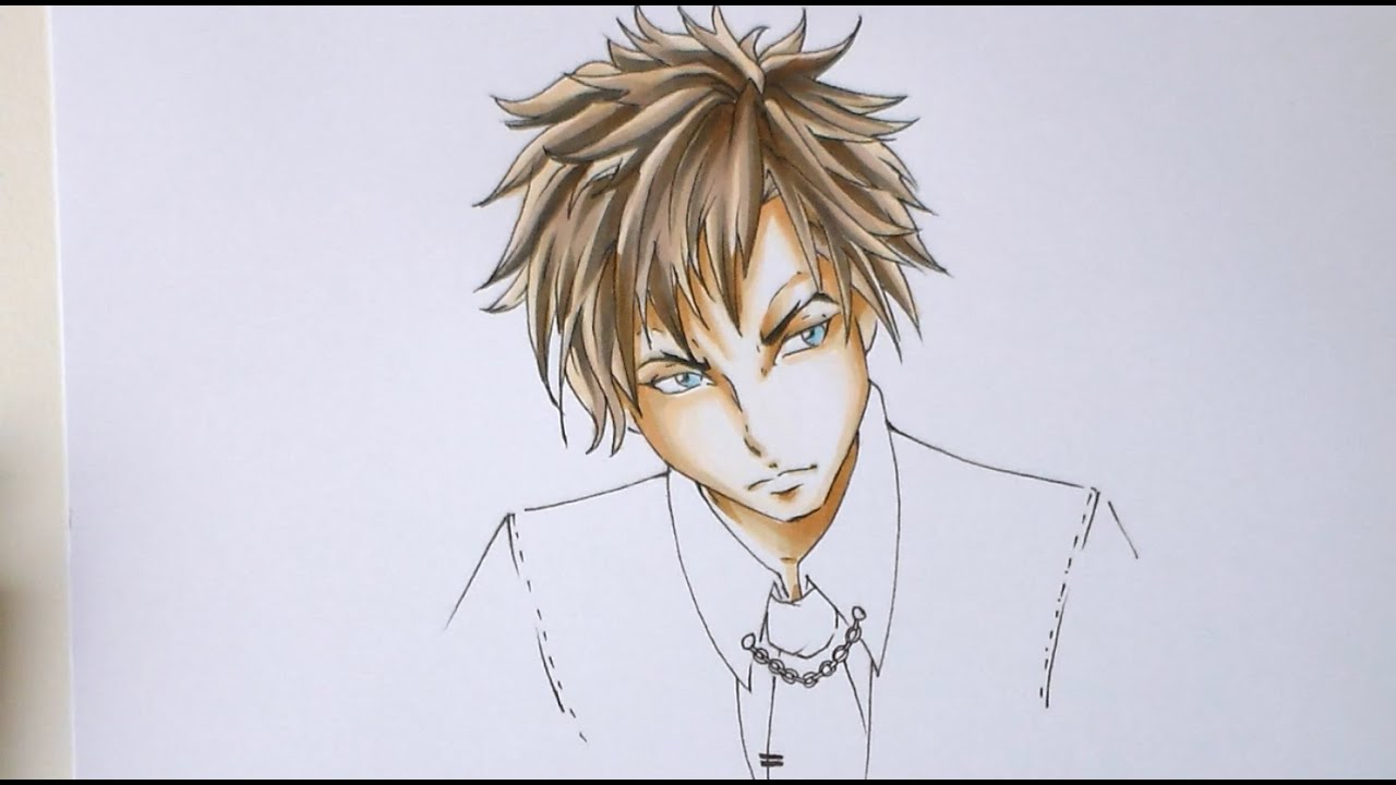 manga anime tutorial - color