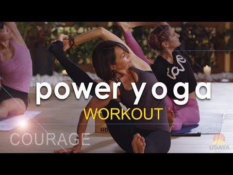 Power Yoga Workout ☯ Courage