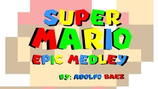 Super Mario Epic Medley (Made in Super Mario Paint)
