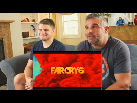 Dad Reacts to Far Cry 6 - Official Reveal Trailer!
