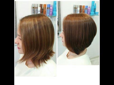 Ответы на многочисленные вопросы и демонстрация женской стрижки на сухой волос Вартан Болотов