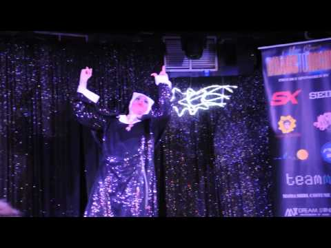 Drag Queen - Kimberly Heart Performs her Nun Mashup of Ave Maria and Anaconda