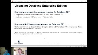 Oracle Database Licensing – Licensing per Processor Metric