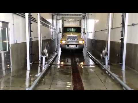 Touchless 2 Step Bio Security Automatic Truck Wash for poultry & Hog Haulers