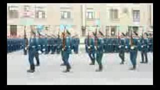Выступление роты почетного караула СПб 2