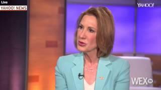 Carly Fiorina slams Hillary Clinton after announcing presidential bid