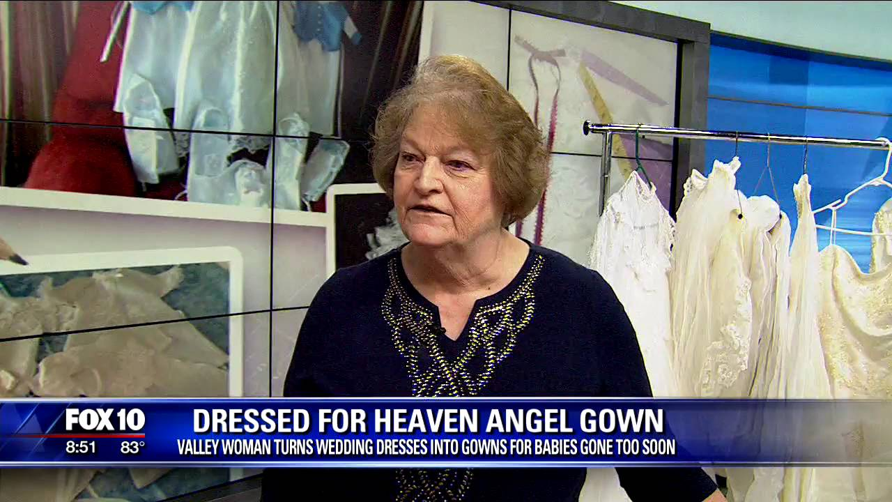 Dressed for Heaven Angel Gowns - YouTube