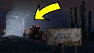 NEW BUNKER LOCATION FOUND IN GTA 5! (GTA 5 Online Gunrunning DLC)