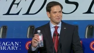 Sen. Marco Rubio: 'I made sure I brought my own water bottle'