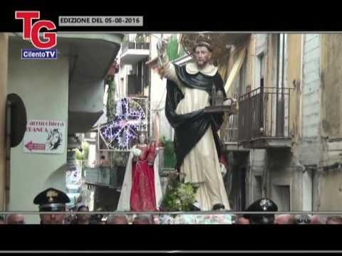 Festeggiamenti San Domenico 2016, il Reportage di CilentoTV