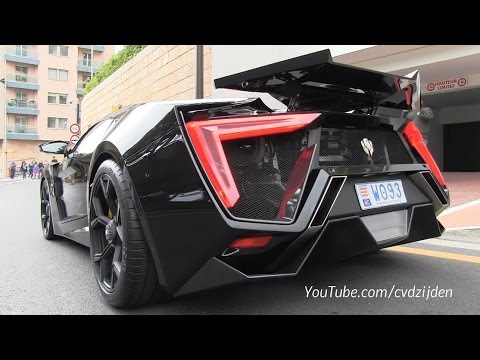 $3,4m Lykan Hypersport on the road! + Sound!