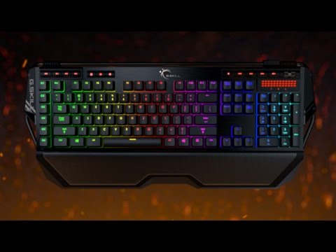 G.SKILL RIPJAWS KM780 RGB / MX-Mechanical Gaming Keyboard