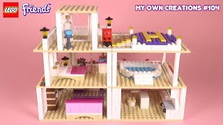 Mansion 006 | LEGO Friends My Own Creations #104