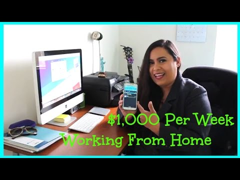 """How To Work From Home"" Online Jobs 2017!"