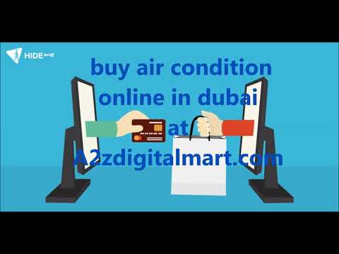 buy air condition online in dubai A2zdigitalmart شراء تكييف الهواء على الانترنت في دبي