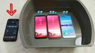 Samsung Galaxy S8 Vs S8 Plus Vs LG G6 Water Test! Secretly Waterproof?