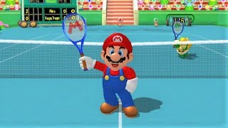 Mario Power Tennis - Wii Gameplay (720p60fps)