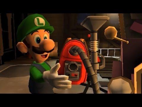 Luigi's Mansion: Dark Moon (3DS) - 100% Walkthrough Part 1 - Intro + A-1: Poltergust 5000