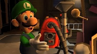 Luigi's Mansion: Dark Moon (3DS) - 100% Walkthrough Part 1 - Intro + A-1: Poltergust 5000