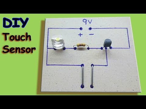 How to Make Simple Touch Sensor | First Electronics Project